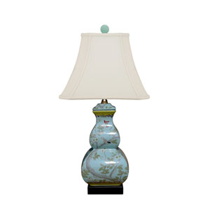 Porcelain Blue and White 22-Inch One-Light Table Lamp