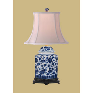 Scallop Tea Jar Table Lamp