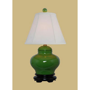 Apple Green Jar Lamp