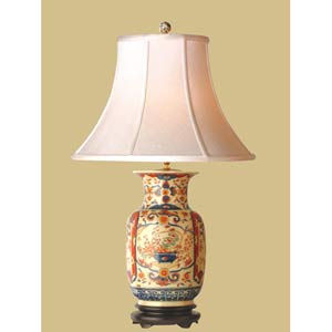 Imari Vase Table Lamp