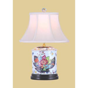 Tobacco Oval Jar Lamp