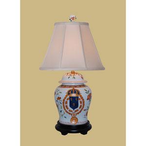 Porcelain Temple Jar Lamp