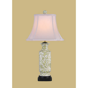 Lemon Grass Green One-Light Porcelain Table Lamp