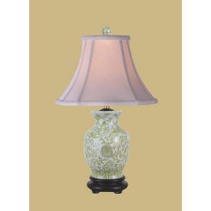 Lemon Grass One-Light Porcelain Vase Table Lamp