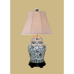 White 29-Inch Vase Table Lamp