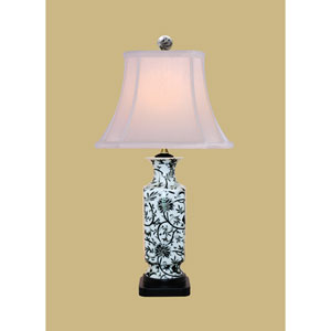 White 24-Inch Table Lamp