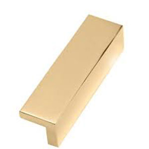 Polished Brass 4-Inch Tap Pull