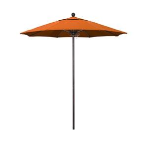 7.5 Foot Umbrella Fiberglass Market Pulley Open Bronze/Pacifica/Tuscan