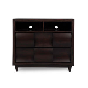 Fuqua Black Cherry Media Chest