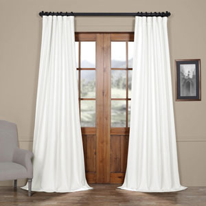 Swiss Coffee 120 x 50 In. Blackout Curtain Single Panel
