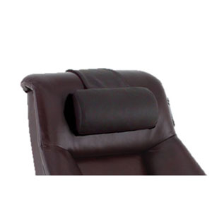 Cervical Pillow in Merlot Top Grain Leather