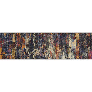 Dreamscape Multicolor Runner: 2Ft.-3-Inch x 8Ft. Runner
