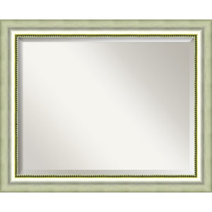 Vegas Burnished Silver Large Wall Mirror
