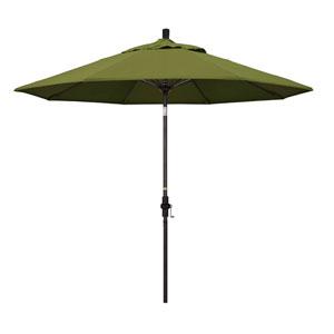9 Foot Umbrella Fiberglass Market Collar Tilt Bronze/Pacifica/Palm