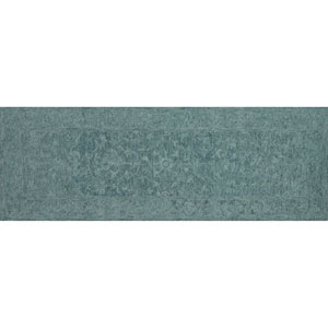 Lyle Teal Runner: 2 Ft. 6-Inch x 7 Ft. 6-Inch