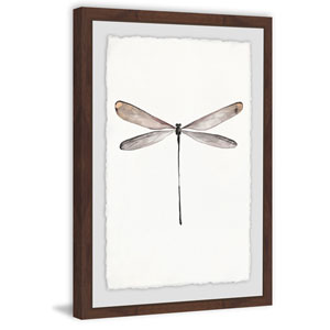 Tall Dragonfly 36 x 24 In. Framed Painting Print