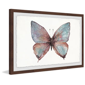 Grand Pastel Wings 16 x 24 In. Framed Painting Print