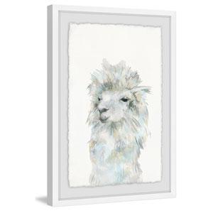 Fluffy White 12 x 8 In. Framed Painting Print