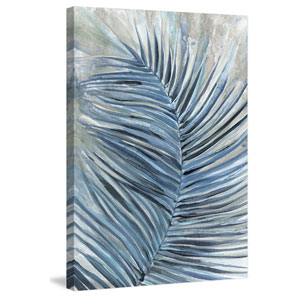 Blue Spirit 18 x 12 In. Painting Print on Wrapped Canvas