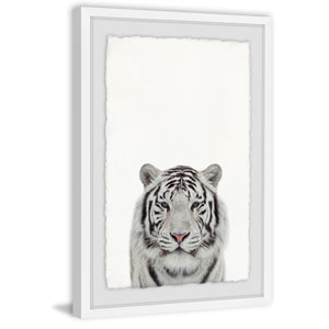 Tamed Tiger 30 x 20 In. Framed Painting Print