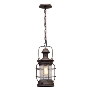 Layhill Rust One-Light Outdoor Pendant
