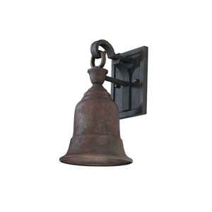 Martine Rust 12-Inch One-Light Dark Sky Outdoor Wall Sconce