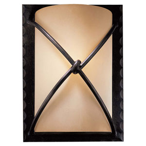 Norwood Bronze Nine-Inch One-Light Wall Sconce