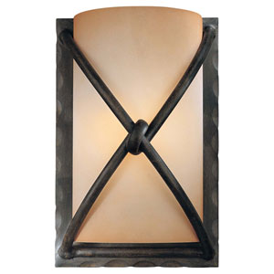 Norwood Bronze Six-Inch One-Light Wall Sconce