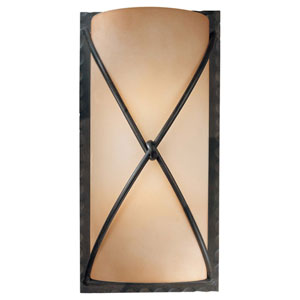 Norwood Bronze Two-Light Wall Sconce
