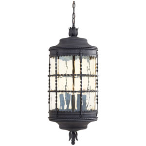Kingswood Iron Five-Light Outdoor Pendant