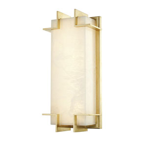 Camley Aged Brass LED Wall Sconce