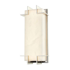 Camley Polished Nickel LED Wall Sconce