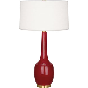 Cromwell Oxblood One-Light Table Lamp