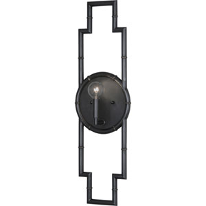 Clark Deep Patina Bronze One-Light Wall Sconce