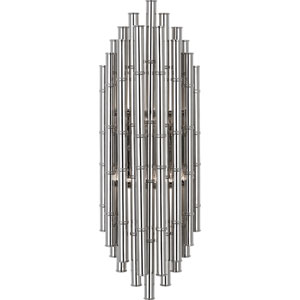 Exeter Polished Nickel Two-Light Wall Sconce
