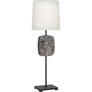 Norris Patina Bronze and Antique Silver 32-Inch One-Light Table Lamp