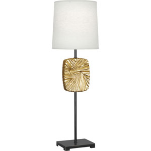 Norris Deep Patina Bronze and Brass 32-Inch One-Light Table Lamp