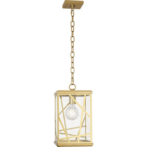Taylor Brass One-Light Mini Pendant
