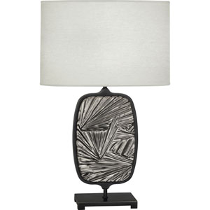 Norris Patina Bronze and Blackened Antique Silver One-Light Table Lamp