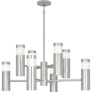 Eldon Polished Aluminum 16-Light Chandelier