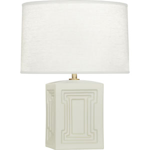 Hatton Gray and Cream One-Light Table Lamp
