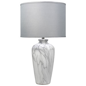 Alice Marbled Ceramic 33-Inch One-Light Table Lamp