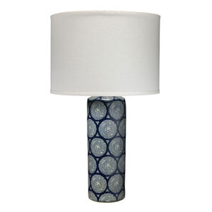 Betty Blue and White One-Light Table Lamp