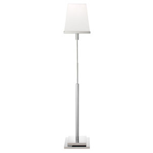Slice Nickel One-Light Floor Lamp