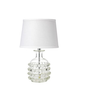 Harcourt Clear Glass 20-Inch One-Light Table Lamp
