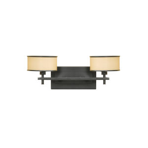 Addington Bronze 18-Inch Two-Light Vanity Fixture