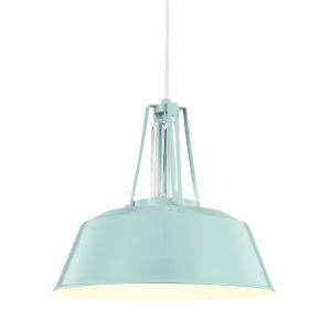 Lester Blue 16-Inch One-Light Pendant