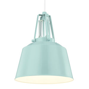 Lester Blue One-Light Mini Pendant
