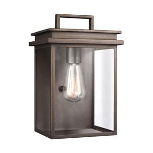 Arran Bronze 8-Inch One-Light Outdoor Wall Lantern