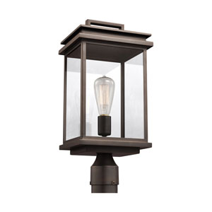 Arran Bronze One-Light Outdoor Post Lantern
